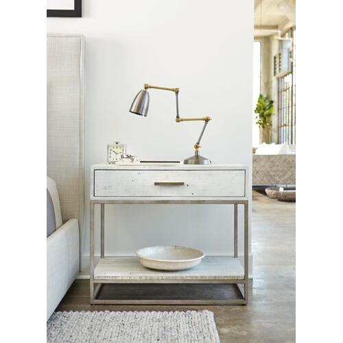 Alvar Nightstand in Brushed White