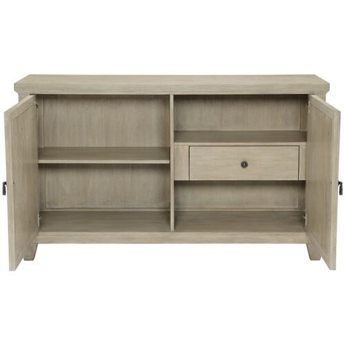 Santa Barbara Sideboard in Sandstone (385), Vintage Nickel Metal (385)