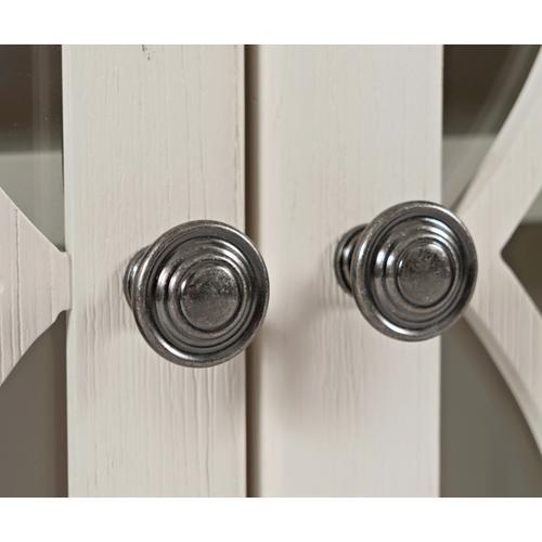 Jofran - Aurora Hills 6 Door Accent Chest White/bisque