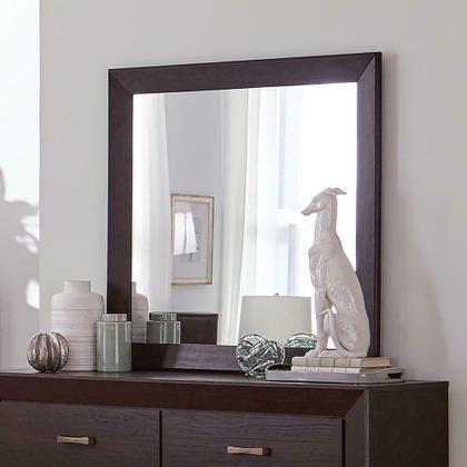 See Details - Fenbrook Dark Cocoa Rectangular Dresser Mirror