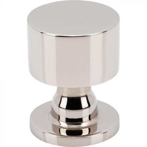 Vesta Fine Hardware - Dante Knob 1 Inch Polished Nickel Polished Nickel