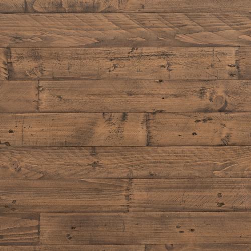 King Size Rustic Sandalwood Finish Wyeth Bed