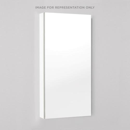 """M Series 15-1/4"""" X 39-3/8"""" X 4"""" Flat Top Cabinet With Polished Edge, Right Hinge and Electric"""