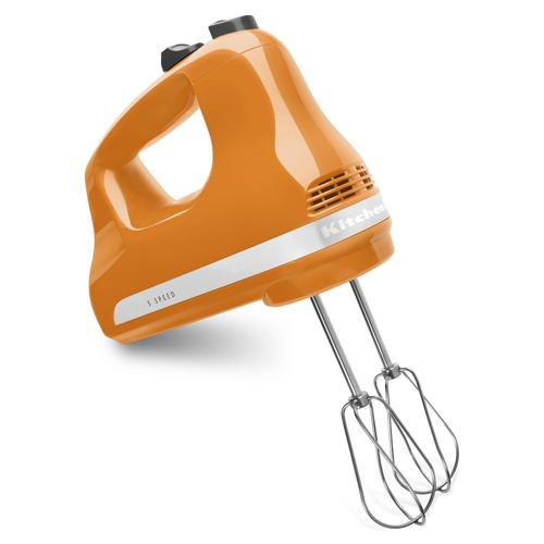 5-Speed Ultra Power Hand Mixer Tangerine