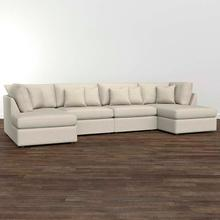 Beckham Double Chaise Sectional