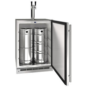 "15"" Keg Refrigerator With Stainless Solid Finish (115 V/60 Hz Volts /60 Hz Hz)"