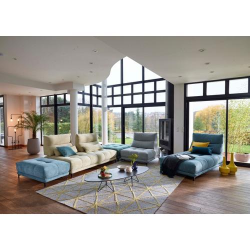 VIG Furniture - David Ferrari Pashmina - Contemporary Multi Colored Fabric Modular Sectional Sofa