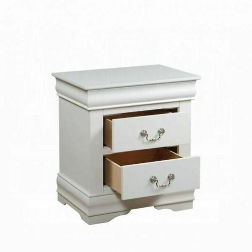 ACME Louis Philippe Nightstand - 23833 - White