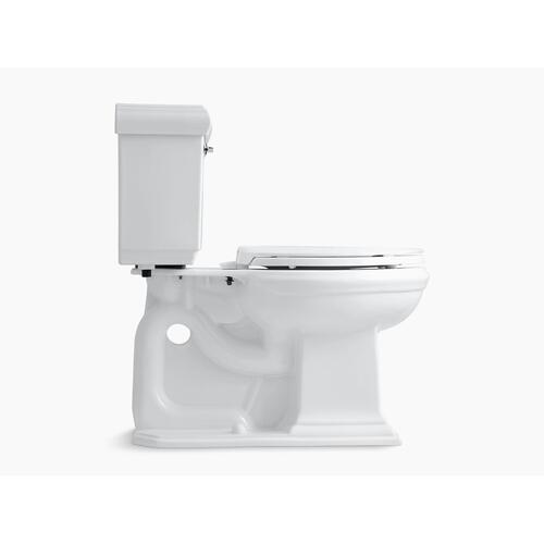 Ice Grey Two-piece Elongated 1.28 Gpf Chair Height Toilet With Insulated Tank