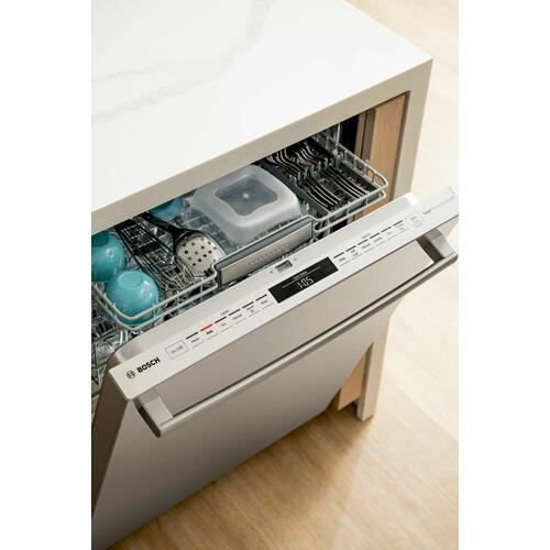 Benchmark® Dishwasher 24'' Stainless steel, XXL SHX88PZ65N