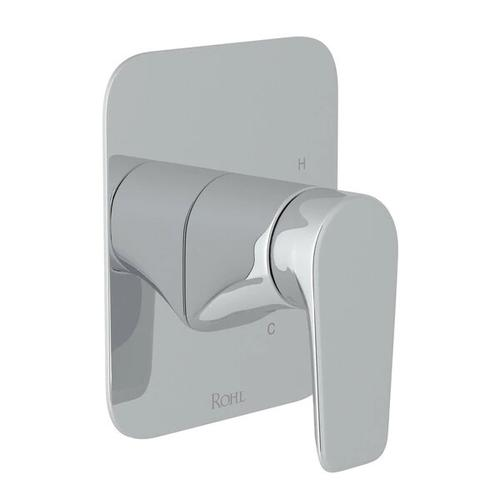 Hoxton Pressure Balance Trim without Diverter - Polished Chrome with Metal Lever Handle