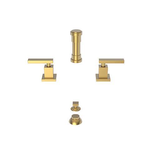 Newport Brass - Satin Gold - PVD Bidet Set