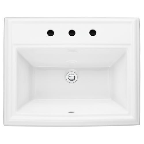 American Standard - Town Square Countertop Drop in Bathroom Sink  American Standard - White