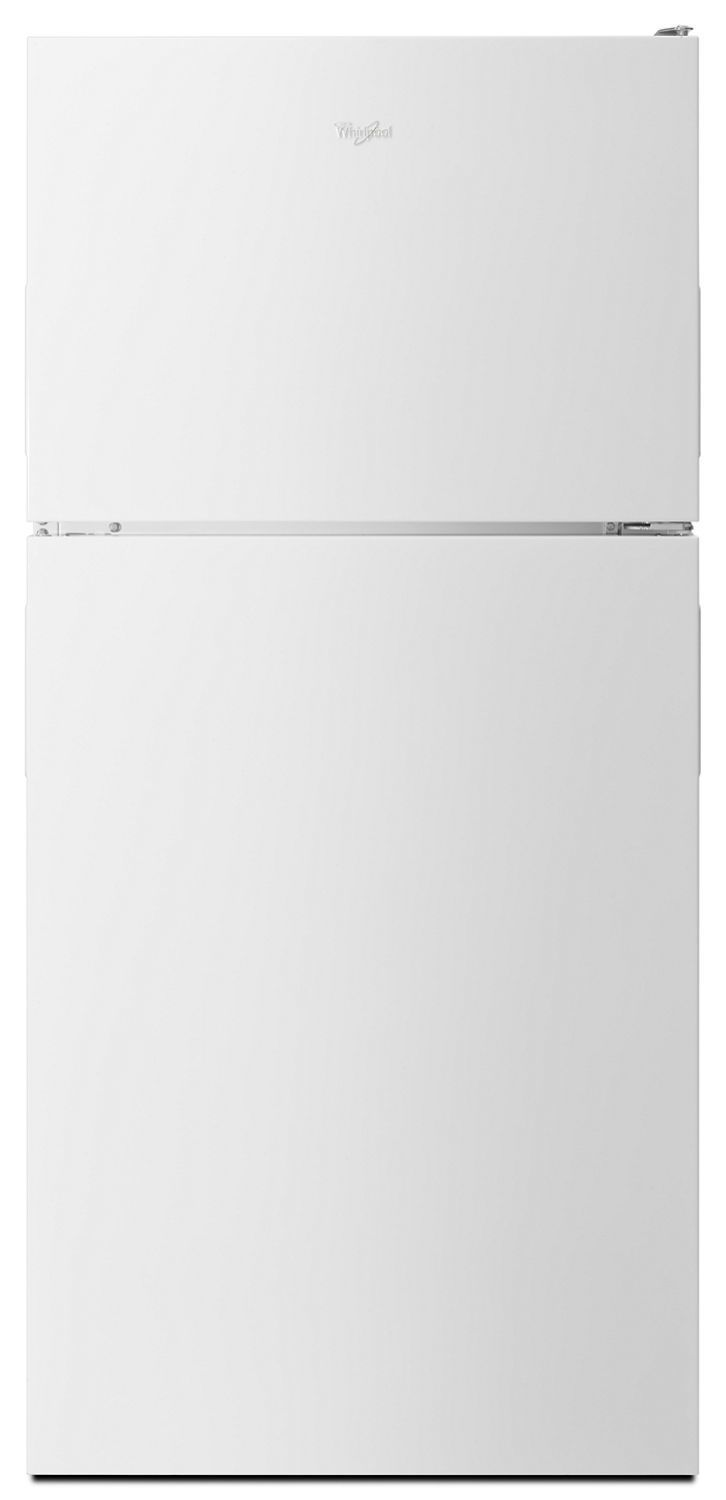 Whirlpool30-Inch Wide Top Freezer Refrigerator - 18 Cu. Ft. White