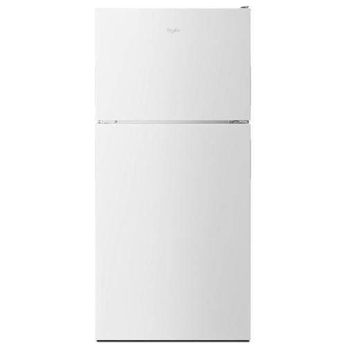 Whirlpool - 30-inch Wide Top Freezer Refrigerator - 18 cu. ft. White