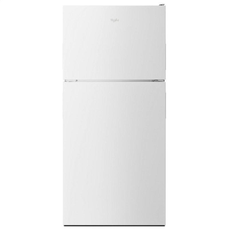 30-inch Wide Top Freezer Refrigerator - 18 cu. ft. White