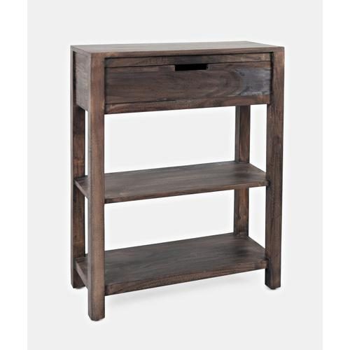 Reynolds 1 Drawer Accent Table-grey