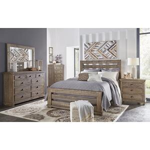Drawer Dresser - Weathered Gray Finish