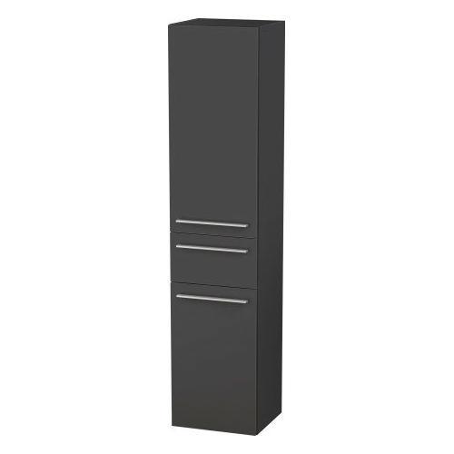 Duravit - Tall Cabinet, Graphite Matte (decor)
