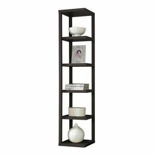ACME Mileta Bookcase - 92090 - Cappuccino