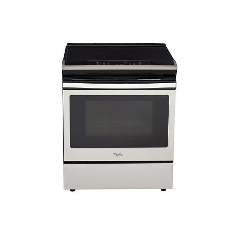 Whirlpool Canada - 4.8 cu. ft. guided Electric Front Control Range with the easy-wipe ceramic glass cooktop