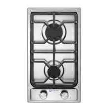 "See Details - Verona 12"" Designer Gas Cooktop - Brass Burners - SS"