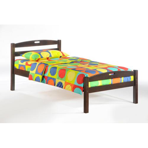 Night and Day Furniture - Sesame Bed in Dark Chocolate Finish