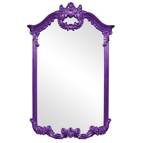 Howard Elliott - Roman Mirror - Glossy Royal Purple