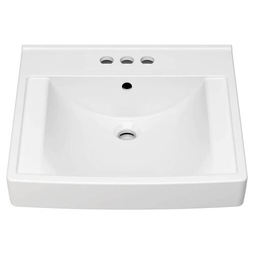 American Standard - Decorum 20-1/4-in. x 21-in. Commercial Bathroom Sink for 4-in. Centerset Faucets  American Standard - White