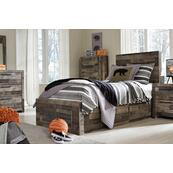Derekson Twin Panel Bed With 2 Storage Drawers
