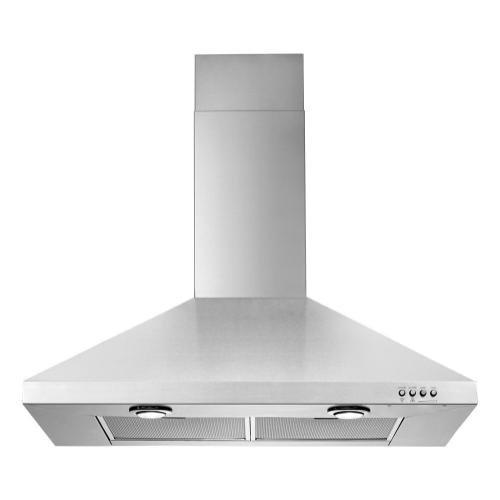 Whirlpool - Gold® 30-inch Vented 300-CFM Wall-Mount Canopy Hood