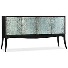 Living Room Melange Elodie Four-Door Credenza