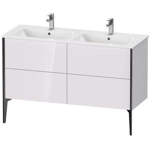 Vanity Unit Floorstanding, White Lilac High Gloss (lacquer)
