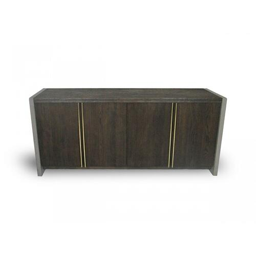 VIG Furniture - Modrest June - Modern Dark Grey & Walnut Buffet