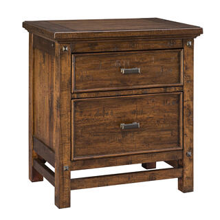 Wolf Creek 2 Drawer Nightstand