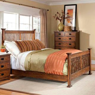 See Details - Oak Park Slat Bed  Mission