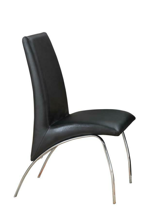 Contemporary Everyday Black Dining Chair