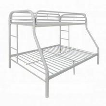 ACME Tritan Twin/Full Bunk Bed - 02053WH - White