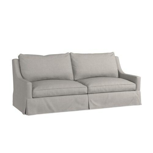 Bridgewater Studio Sofa, Arm Style Charles of London