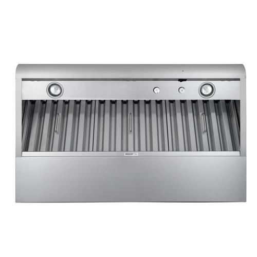 Broan® Elite 42-Inch Pro-Style Under-Cabinet Range Hood w/ Internal Blower & Light, Stainless Steel