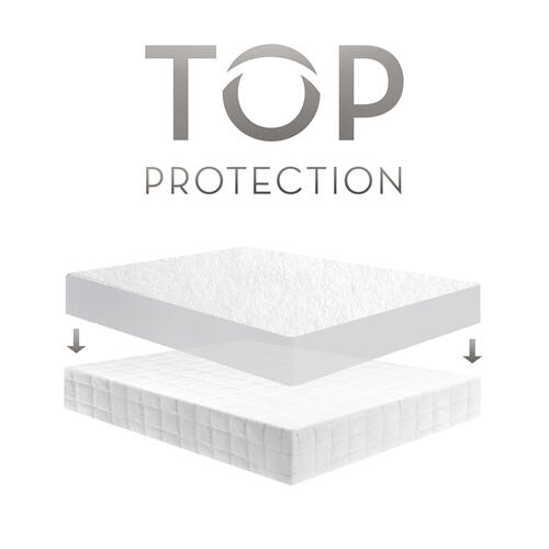 Pr1me Terry Mattress Protector Cot