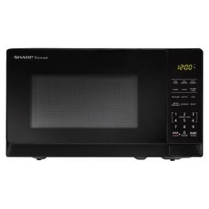 Sharp Appliances0.7 cu. ft. 700W Sharp Black Carousel Countertop Microwave Oven