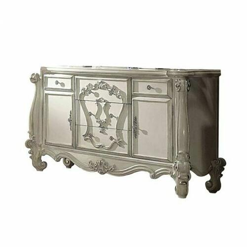 ACME Versailles Dresser - 21135 - Bone White