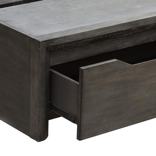 Java Queen Storage FB & Slat Roll in Gray
