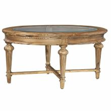 2-3300 Wellington Hall Oval Coffee Table