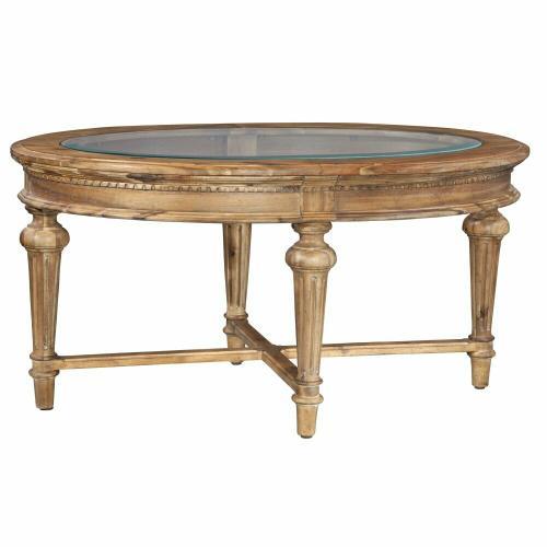 2-3300 Wellington Hall Oval Coffee Table