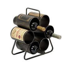 "METAL WINE RACK 12""W, 14""H"
