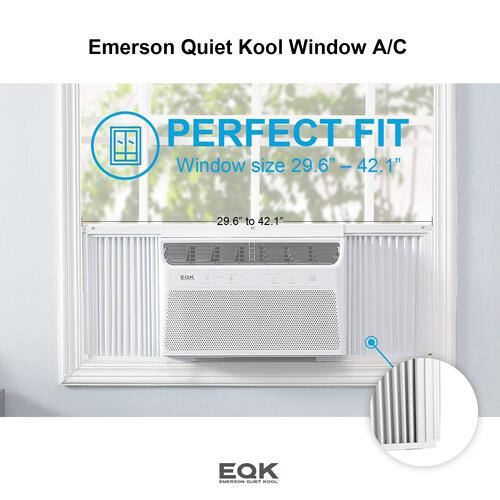Emerson Quiet Kool SMART Window Air Conditioner,15,000 Btu 115V, With Wifi and Voice Control, Works with Amazon Alexa and Google Home, Energy Star Certified, EBRC15RSE1H