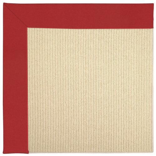 Capel Rugs - Creative Concepts-Beach Sisal Canvas Jockey Red