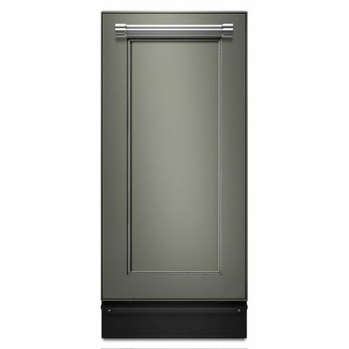 KitchenAid - 1.4 Cu. Ft. Panel-Ready Built-In Trash Compactor - Panel Ready PA